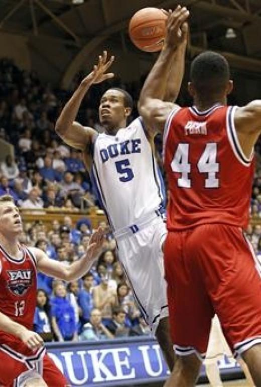 Duke transfer Rodney Hood - also very good.