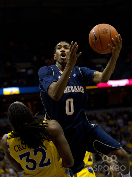 Notre Dame senior point guard Eric Atkins