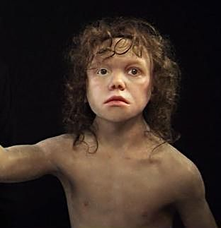 Child from Krapina, 150.000 years ago, CROATIA
