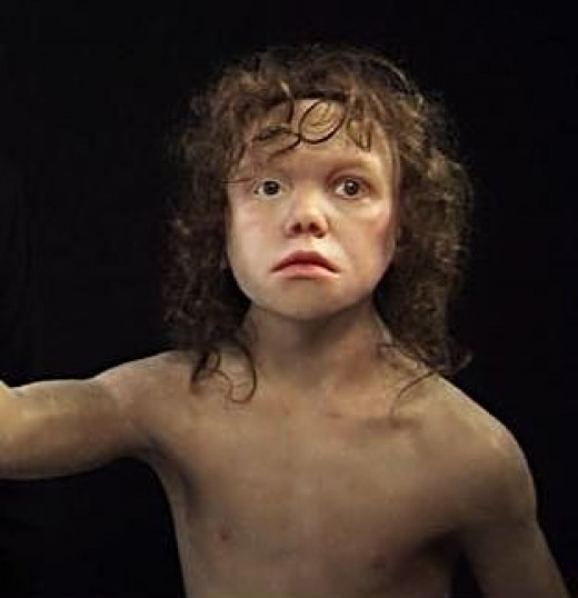 Child from Krapina, 150.000 years ago, CROATIA