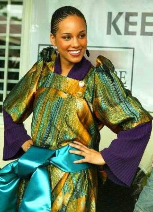 US-based Hollywood Icon Alicia Keys supports Ugandan-based Organizations