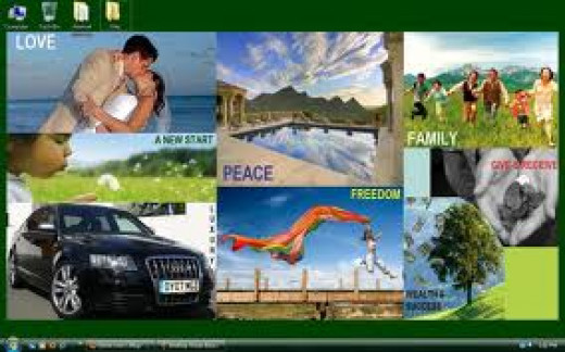 Planning Your Year with a vision board