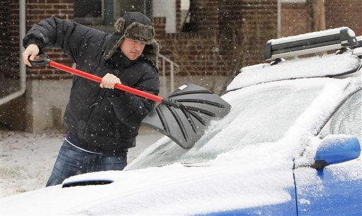 It may seem like a hassle, but doing what it takes to keep your car cleared off will help prevent an accident.