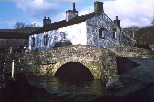Monk Bridge, Malham village in the Craven district of North Yorkshire - originally West Riding