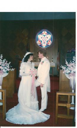 My wedding day  April 30th 1988