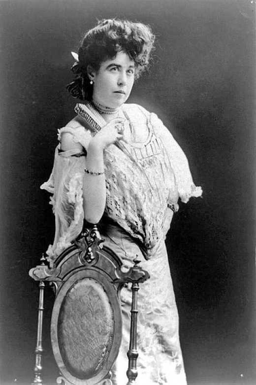 "Mrs. James J. ""Molly"" Brown, survivor of the Titanic  1890- 1920"
