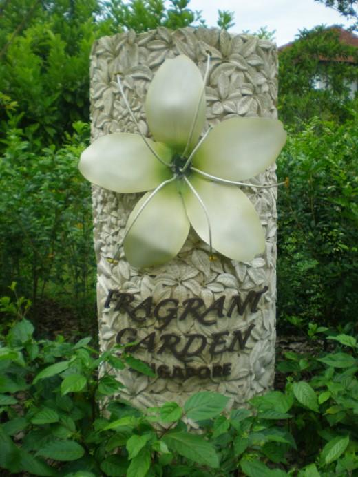 Fragrant Garden. It smells wonderful in here.