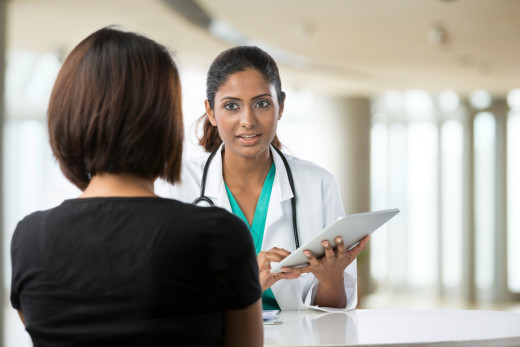 A doctor does a root cause analysis on a patient