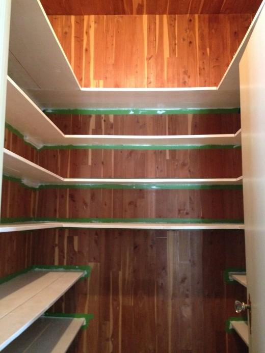My cedar closet