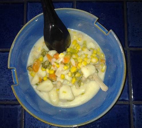 Vegetarian Corn Chowder