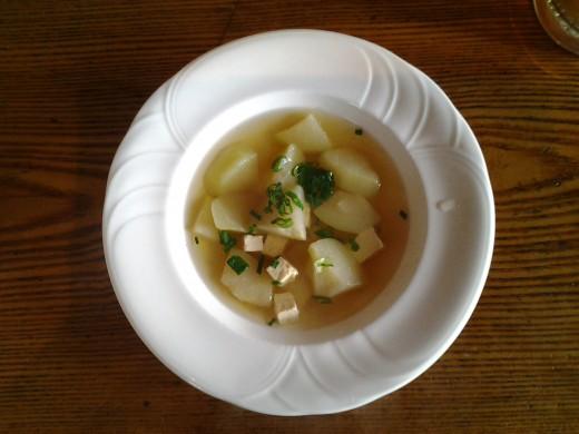 Chayote & Tofu Soup