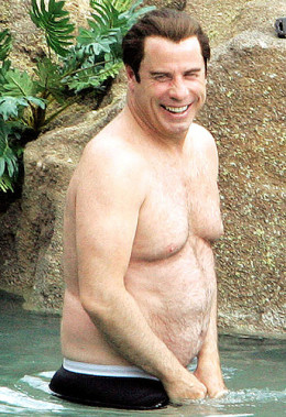 John Travolta: Gym Bunny turned Bear