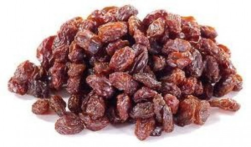 Raisins are dried grapes.