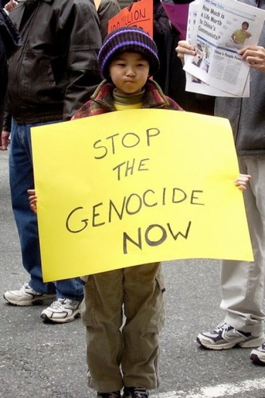 Protesting Genocide