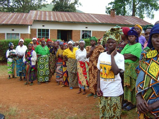 DRC Against the Defilement of Women