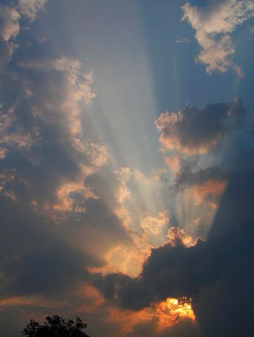 My first decent God light shot from Hope Abrams flickr.com