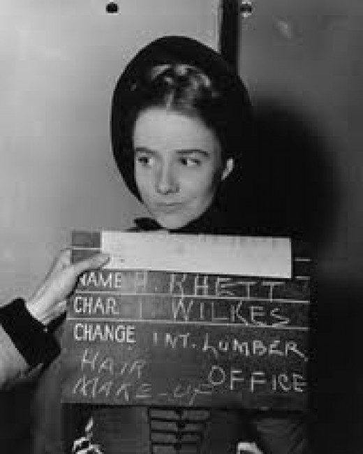 Alicia Rhett screen test 1938