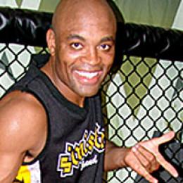 Photo of Anderson Silva.