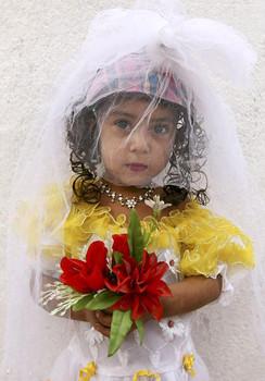 Rawan, an 8-year-old Yemeni bride dies of internal bleeding on her wedding night to a 40-year-old Yemeni man.