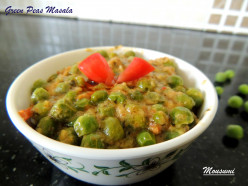 Green Peas Masala Recipe | A Perfect Side Dish for Chapathi :Green Peas Masala Recipe