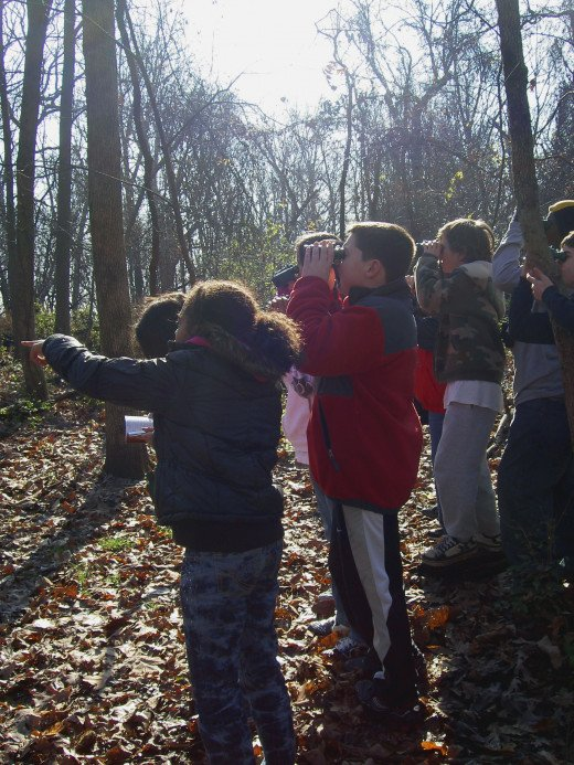 Birding is a great way to get kids outside and enjoying nature