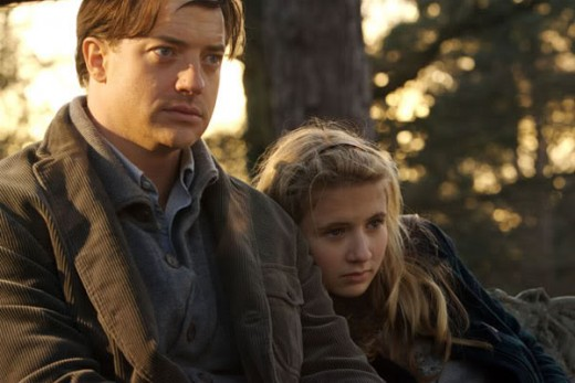 Mortimer risks life and limb to protect his daughter from all kinds of danger in Inkheart.