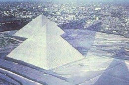 Snow in Northern Africa reveals the increase in the Earth's Wobble in no uncertain terms.