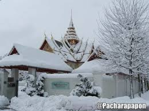 Snow in Thailand is more than just extreme weather but is definitely Climate Change, the question is why?