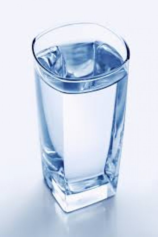 Drinking more water to lose belly fat.