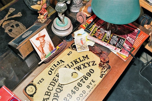 The Ouija board is thought to be a way of communicating with the dead.