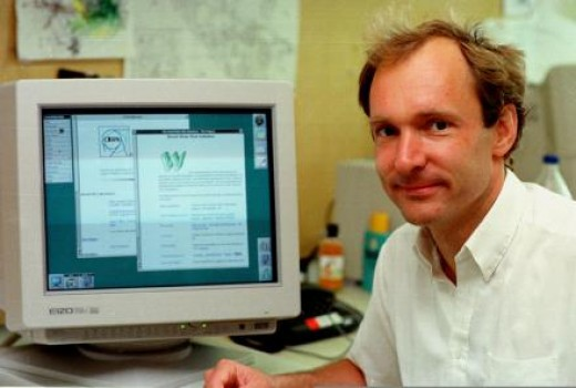 Tim Berners-Lee, the inventor of the Web