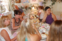 Tea parties can be a fun event for all ages..