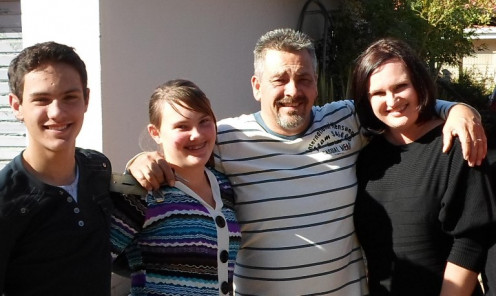Brother Phillip and family © Martie Coetser