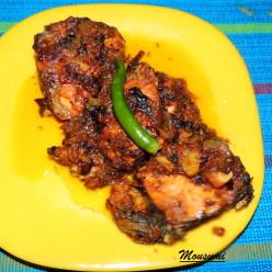 Mahi Kalia Recipe | Spicy Rui/Rohu Fish Curry Recipe | Rui Macher Kalia Recipe
