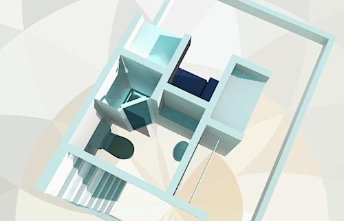 Bottom section of the EynCube Floor Plan