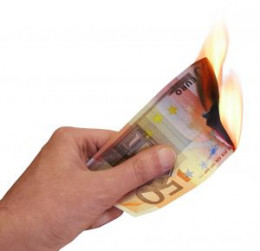 Quit cigarettes and you'll also quit burning money!