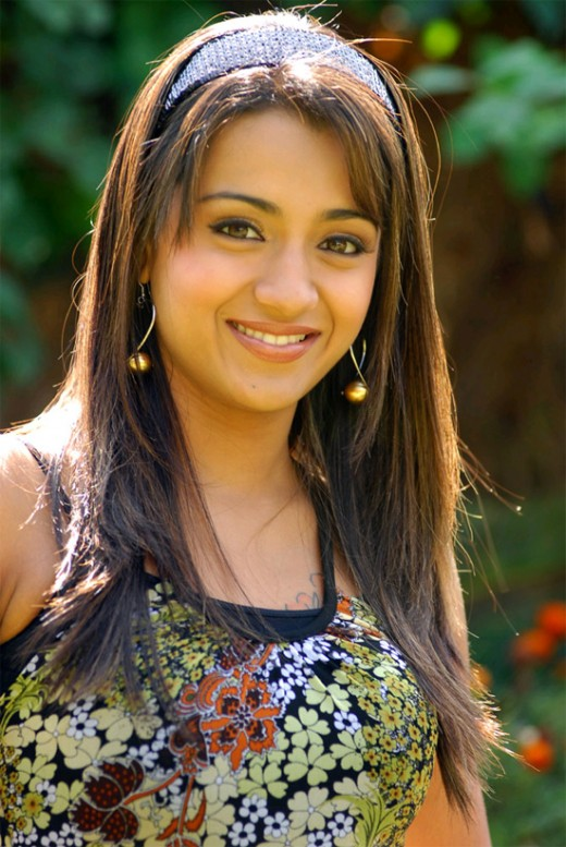 Sweet and cute face of gorgeous actress Trisha