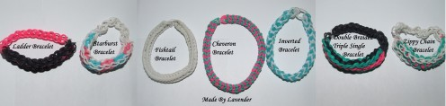 Bracelets Made By Lavender