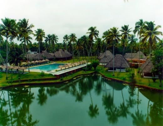 A View Of CGH Earth Marari Beach Resort.