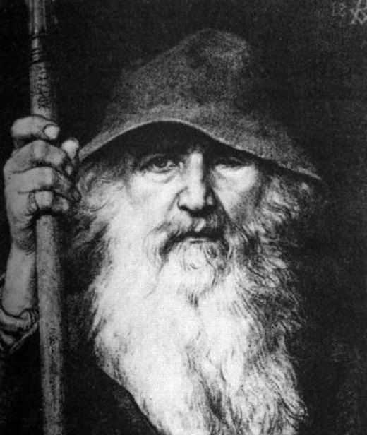 Gauti - better known as Odin 'the Wanderer' - tells Hunding he will spend time in Roskilde with Knut's sister Gunnlaug