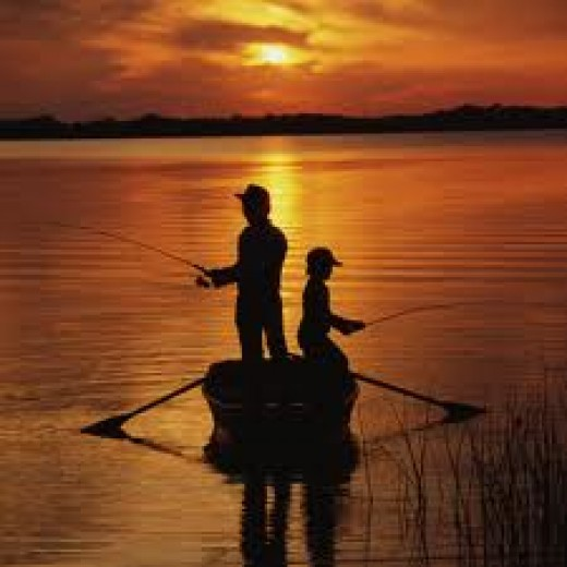 Fishing is a great way to bond with your son