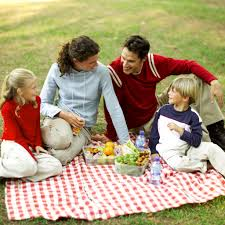 Family picnics are terrific