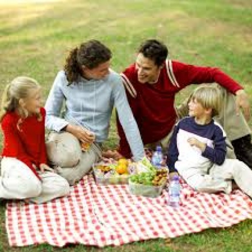 Family picnics are terrific