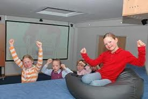 Make the kids a home cinema