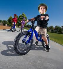Let the kids feel freedom on a bike