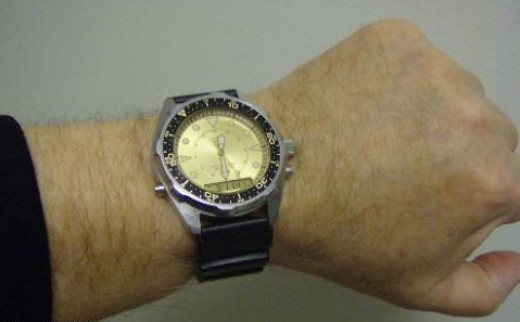 The Casio Men's Ana-Digi Watch certainly isn't for deep diving enthusiasts; however, for shallow diving it does a pretty good job. For around $50 it's one of the better value deals you'll find.