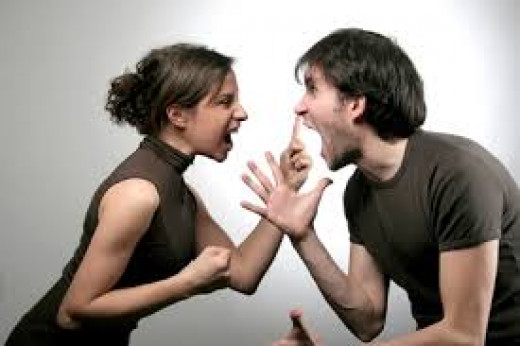Verbal abuse is no good in a relationship