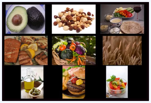 Sample of Mediterranean diet