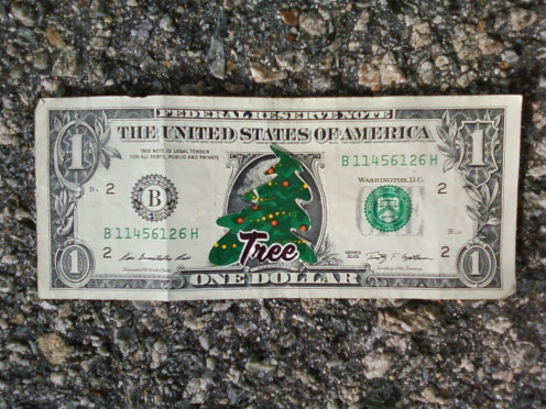 Christmas Tree Money