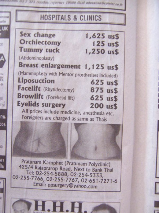 Be careful when deciding on your surgeon, the best price doesn't always ensure the highest quality of work.